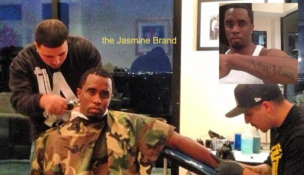 Celebrity Ink: Diddy Tattoos The City That Never Sleeps On His Forearm