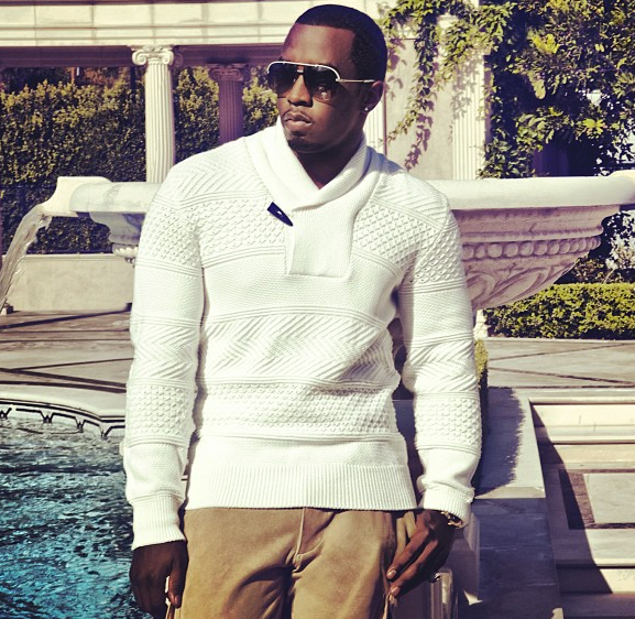 diddy-sean john instagram fashion show 2013-the jasmine brand
