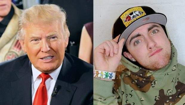 Donald Trump Blasts Mac Miller + Diddy Ciroc Stunts for NYC Club Goers