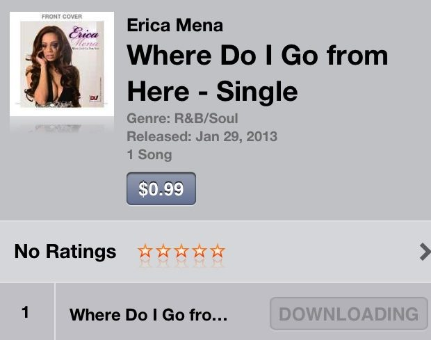 Love Hip Hop's Erica Mena Releases Official Single, 'Where Do I Go From Here'