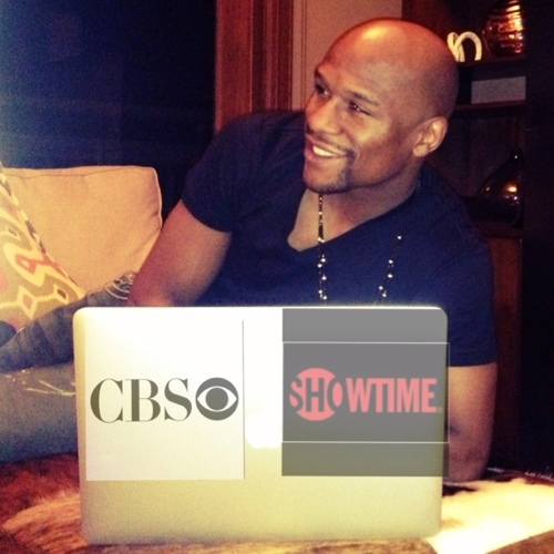 floyd mayweather-inks deal with cbs showtime-the jasmine brand