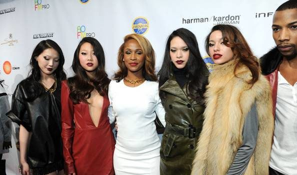 [Photos] Rick Ross' Girlfriend, Shateria, Debuts Frontrow Line At New York Fashion Week