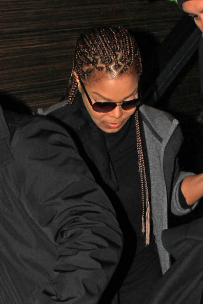 janet jackson-box braids-airport-the jasmine brand