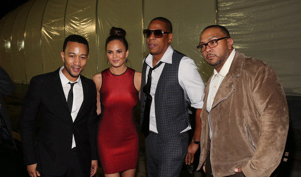 "[Photos] John Legend, Jay-Z, Nicole Murphy & Friends DirecTV's ""Super Saturday Night"""