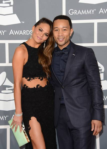 john legend-chrissy-55th grammy awards-the jasmine brand