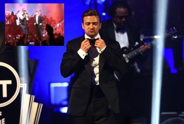 [Video] Justin Timberlake Brings Jay-Z to Pre Superbowl Concert