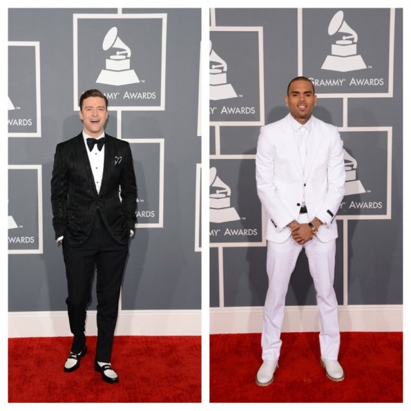 justin timberlake-chris brown-55th grammy awards-the jasmine brand
