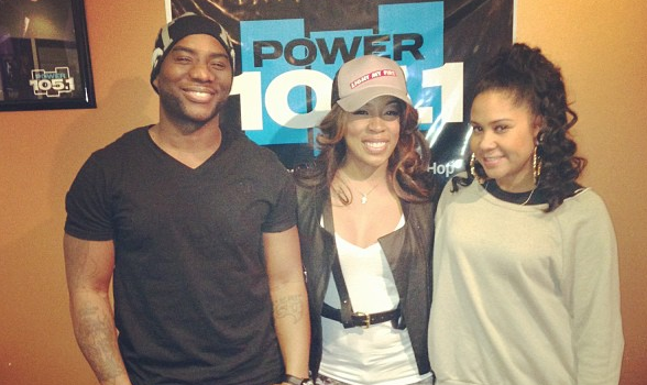 [Video] K.Michelle Says Her Entire Album Is About JR Smith + Questions Sexuality of Mimi Faust's New Boyfriend