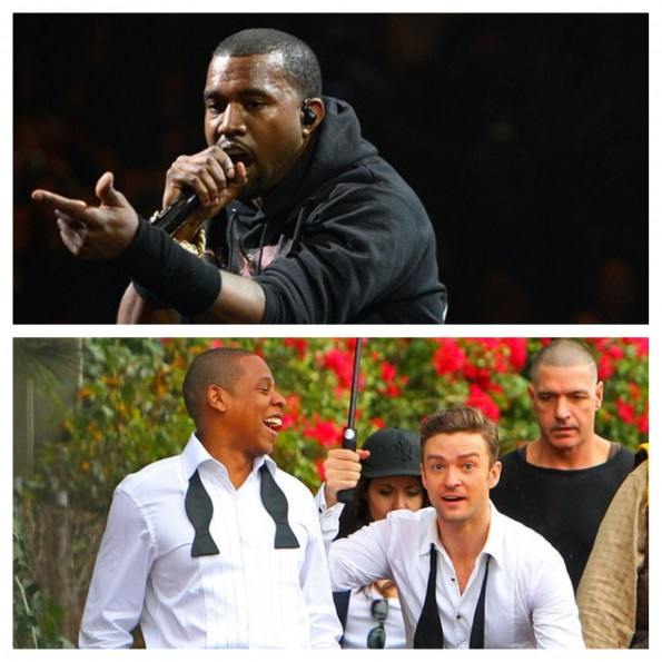 kanye west-disses jay-z-justin timberlake-suit and tie-grammys-the jasmine brand
