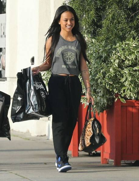 karrueche-shops and smiles in west hollywood-the jasmine brand