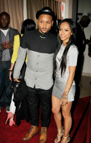 Karrueche Shows Up To Pre-Grammy Party With New Eye Candy