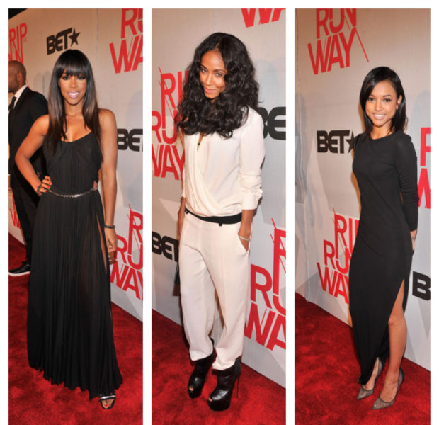 Kelly Rowland, Rick Ross, Karrueche Tran Hit BET's 'Rip the Runway'