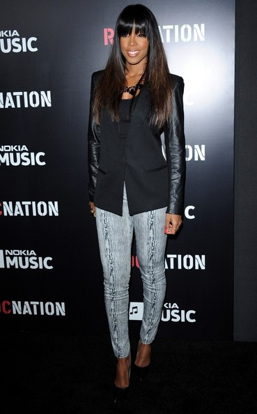 [Pix] Rihanna, Kelly Rowland, Jill Scott Attend Roc Nation's Brunch Bash