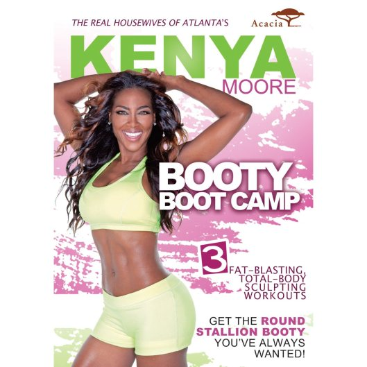 RHOA Kenya Moore Set to Release 'Booty Boot Camp' DVD To Hit Shelves Next Month