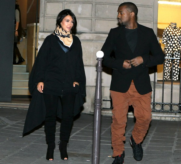 kim kardashian-kanye west-having girl-the jasmine brand