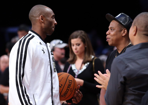 kobe bryant-jay-z-courtside-nba all star game 2013-the jasmine brand