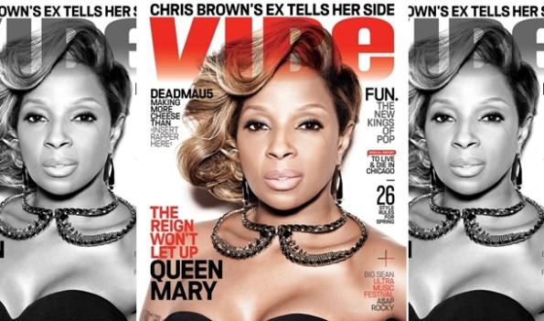 mary j blige-vibe magazine-the jasmine brand