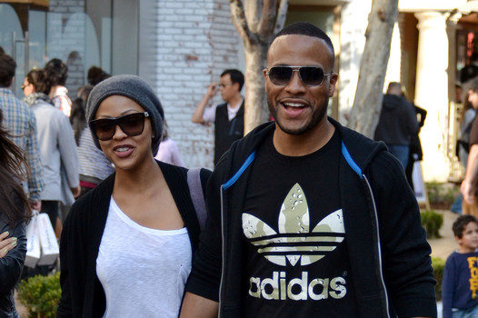 Meagan Good and Hubby Shop, Bruno Mars Smokes A Jack + More Celebrity Stalking