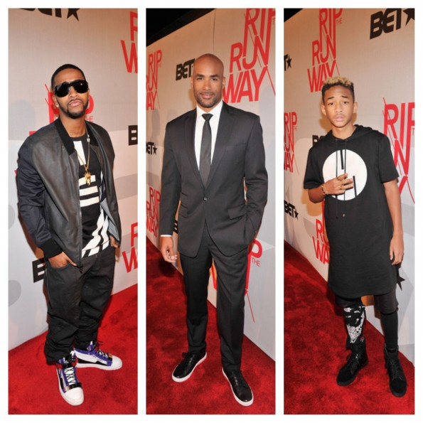 omarion-boris kodjoe-jaden smith-rip the runway 2013-the jasmine brand