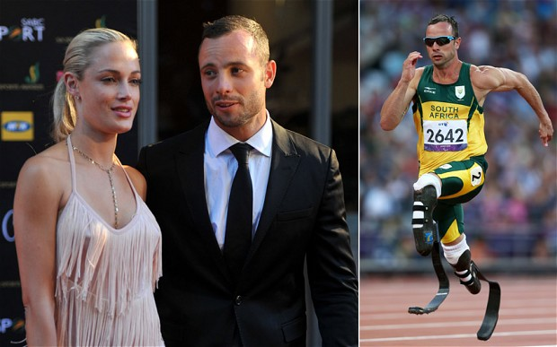 Paralympic Star Oscar Pistorius Charged With Murdering Model Girlfriend +