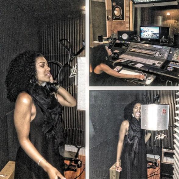 porsha stewart-recording studio-rhoa-the jasmine brand