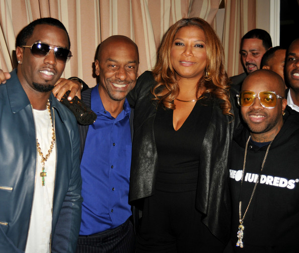 queen latifah-diddy-jermain durpi-stephen g hill-vibe magazine 20th inaugural impact awards honoring mary j blige 2013-the jasmine brand