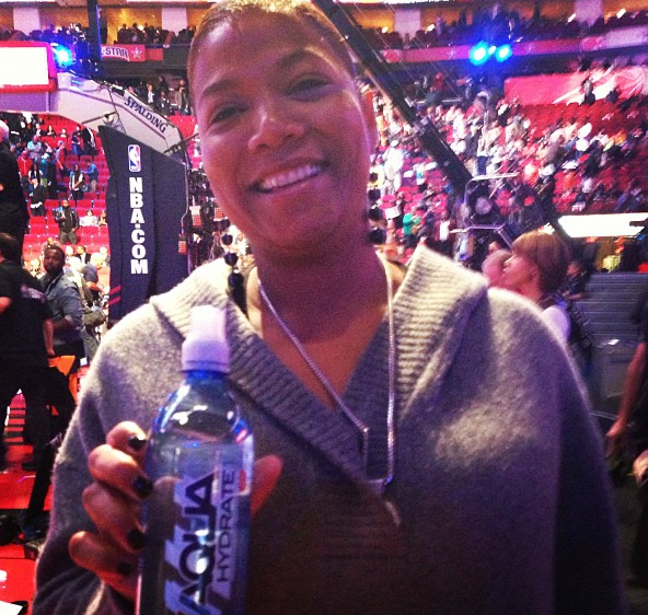 queen latifah--diddy water-AQUAHYDRATE