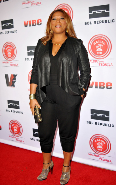 queen latifah-vibe magazine 20th inaugural impact awards honoring mary    Queen Latifah 2013