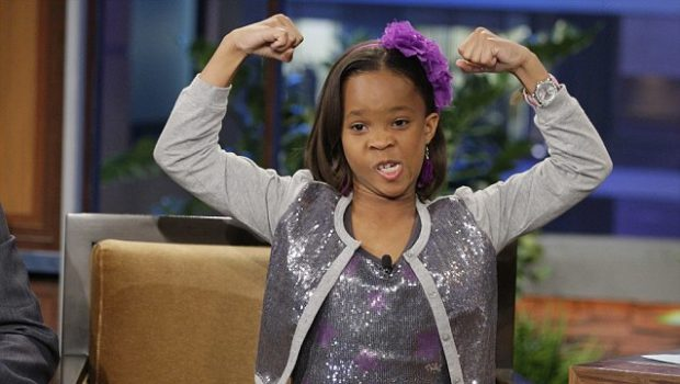 Quvenzhané Wallis Shines on Jay Leno, Ice Cube Hits LAX + Evelyn Lozada's Daughter Does Vibe