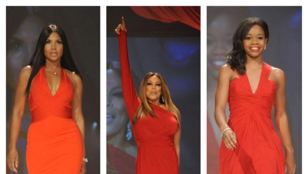 Wendy Williams, Toni Braxton, Gabby Douglas Rip the Runway for the 'Heart Truth Fashion' Show