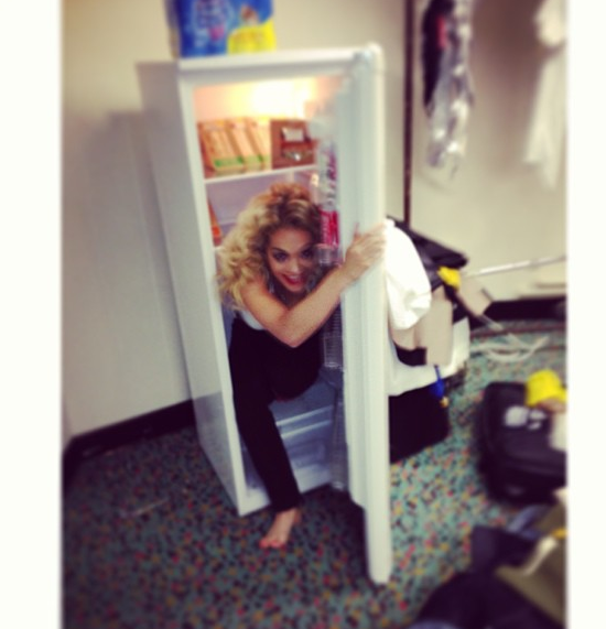Rita Ora Plays in the Fridge (Literally) + Kanye West Announces London Show