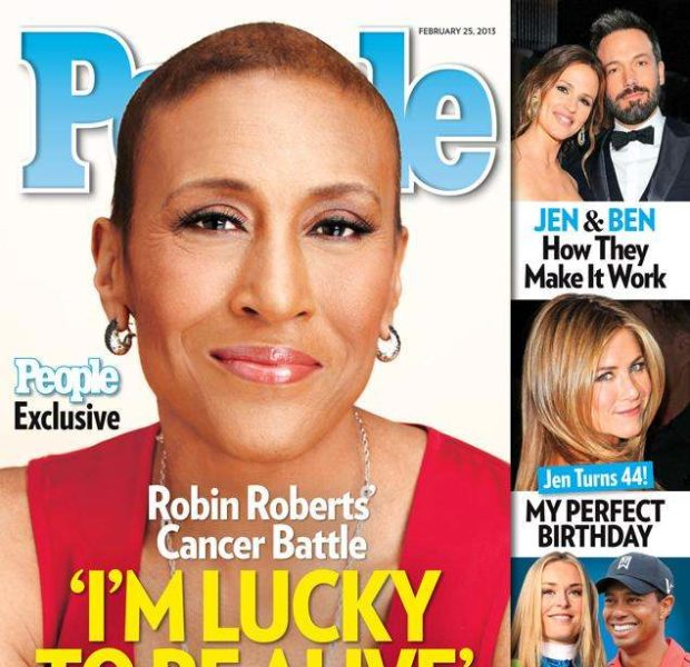 Robin Roberts Recounts Being Near Death, 'I Kept Hearing My Name'