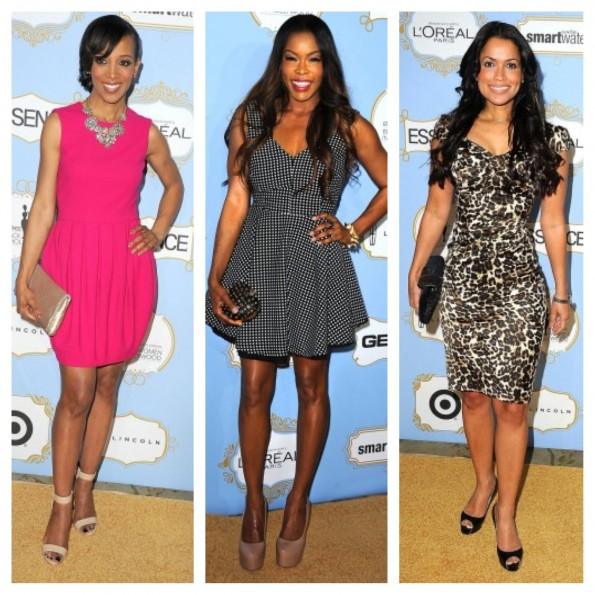 shaun robinson-tracey edmonds-essence black women in hollywood luncheon