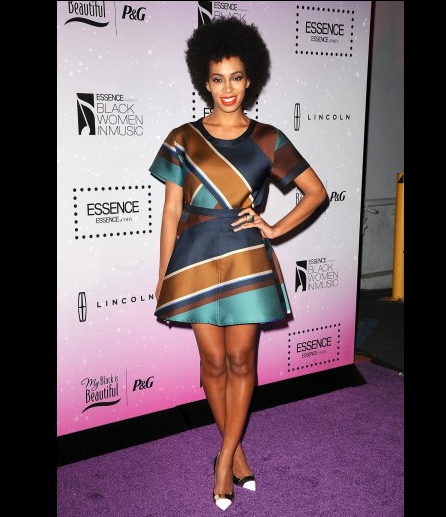 [Pix] Celebs Show Solange Knowles Industry Love At Essence 'Black Women in Music'