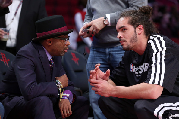 spike lee-courtside-nba all star game 2013-the jasmine brand