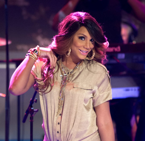 Stylin-On-You-Hoes: Tamar Braxton Hits 106 & Park + Teyana Taylor Debuts Sneakers & Lipstick