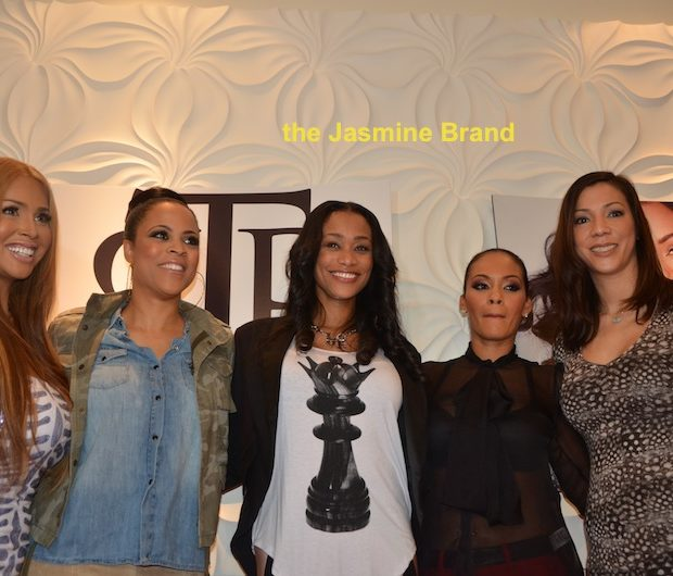 Tami Roman Unveils New Nail Polish Line, With Reality Star BFF's in Attendance