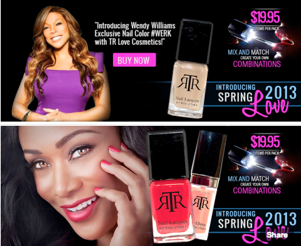 Wendy Williams Creates New Nail Color, #WERK, With Tami Roman's New Cosmetic Line