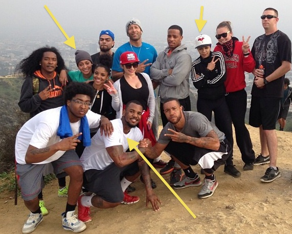 [Photos] Lala, The Game & Celeb Friends Get Physical, Take Over Runyon Canyon