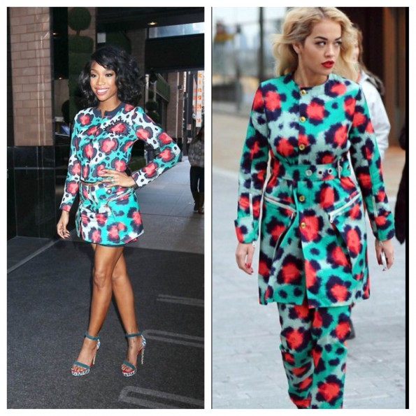 Brandy-Rita Ora-kenzo collection-fashion-2013-thejasminebrand