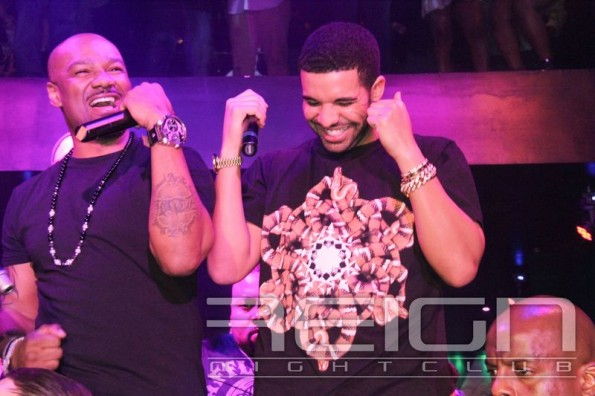 Drake and BIg Tigger-b-atl reign club-grammy party-the jasmine brand