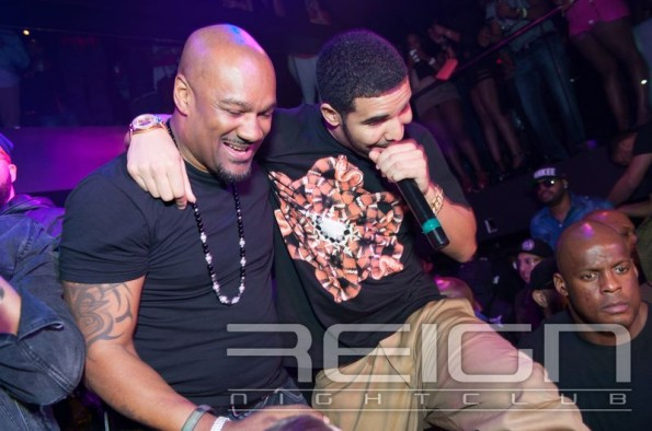 Drake and Big Tigger-atl reign club-grammy party-the jasmine brand