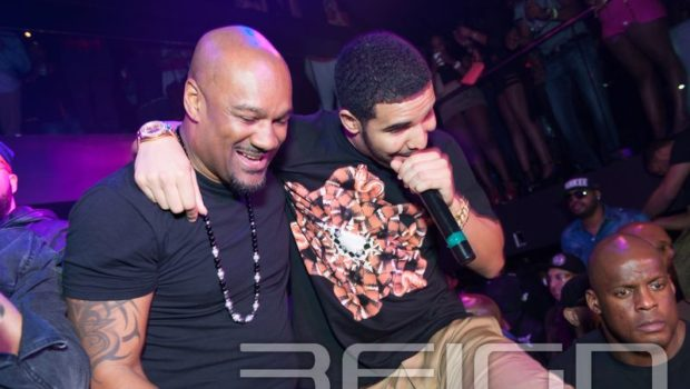 [Photos] Miguel's ATL Party Brings Out Drake & Friends