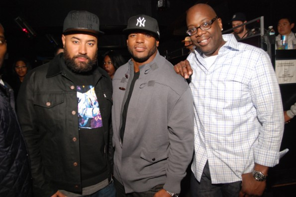 Ebro Darden - Dwight Freeney - Mike Kyser-the gossip game screening-the jasmine brand