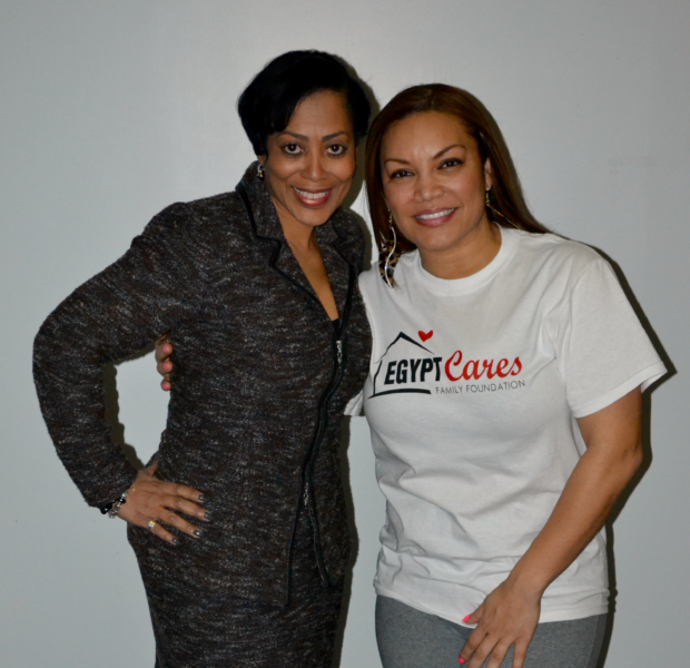 Mimi Faust, Nicci Gilbert Give Back To ATL Women, Support Egypt Sherrod's 'Sisters Keepers Shut In' Event