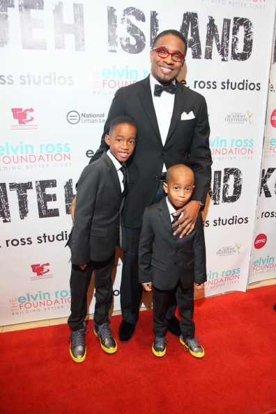 Elvin  Ross with his children[1]_thejasminebrand