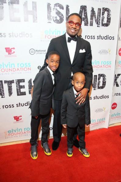 Elvin  Ross with his children[1]_thejasminebrand