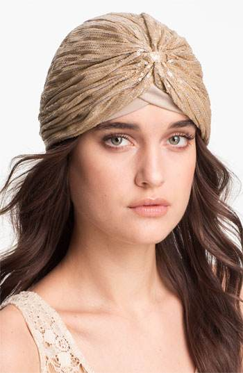 Fashion- Sequined Turban- the jasmine brand