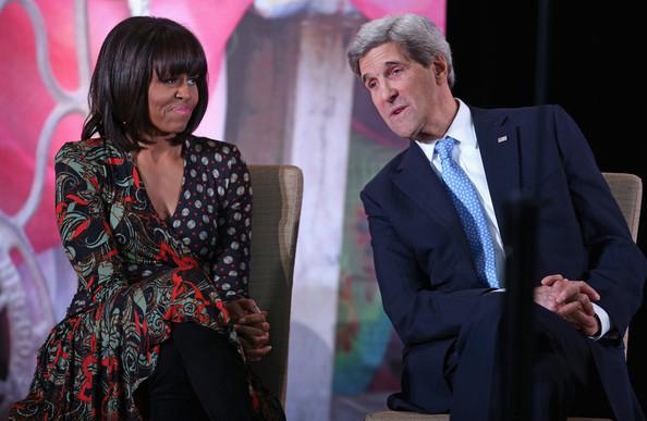 John Kerry Michelle Obama_thejasminebrand