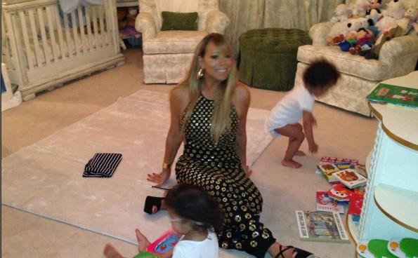 Miarah-Carey-On- Mom- Duties-The-Jasmine-Brand